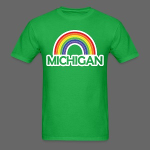 Kelly's Michigan Rainbow Shirt - Men's T-Shirt