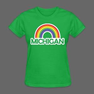 Kelly's Michigan Rainbow Shirt - Women's T-Shirt