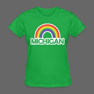Kelly's Michigan Rainbow Shirt - Women's T-Shirt
