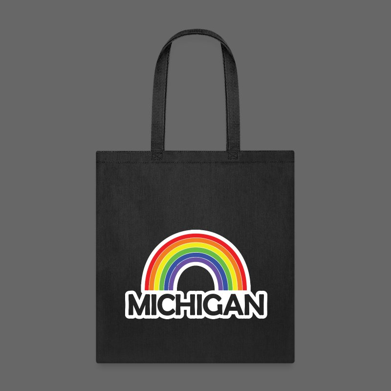 Kelly's Michigan Rainbow Shirt - Tote Bag
