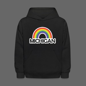 Kelly's Michigan Rainbow Shirt - Kids' Hoodie