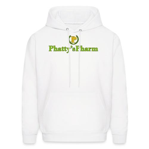 Phatty's Pharm Mens Hoodie Pullover Green/Gold/Black print - Men's Hoodie