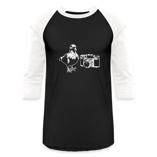 Pigeon Camera Baseball Tee - Baseball T-Shirt