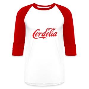 'Cordelia' Baseball Tee - Baseball T-Shirt