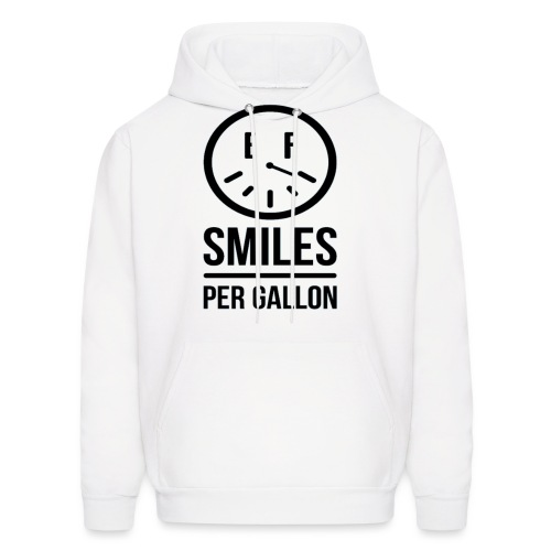 Smiles Per Gallon Hoodie - Men's Hoodie