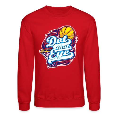 Dot That Eye Long-Sleeved - Crewneck Sweatshirt