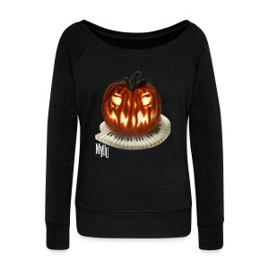 Pumpkin Sweater ♀ - Women's Wideneck Sweatshirt