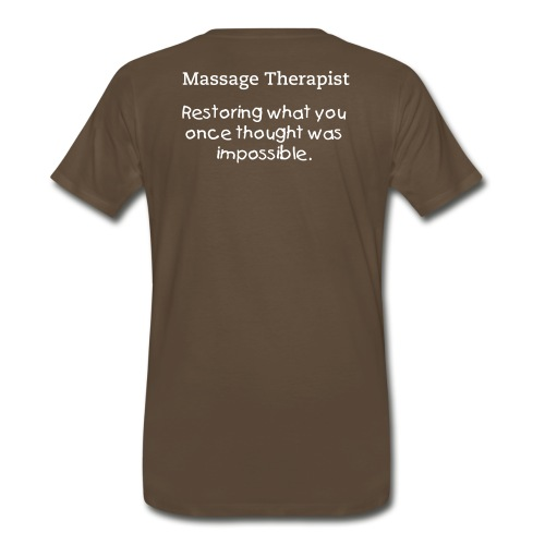 Men's T-shirt, Massage Therapist - Men's Premium T-Shirt