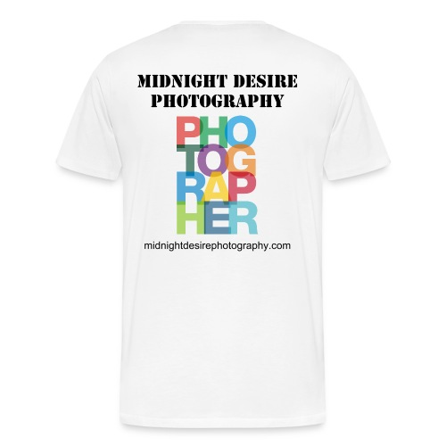 Mens Midnight Desire Photography Photographer T-Shirt - Men's Premium T-Shirt