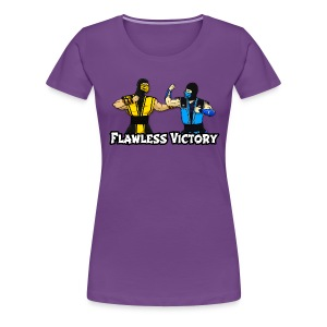 BF Flawless Victory Shirt Female - Women's Premium T-Shirt
