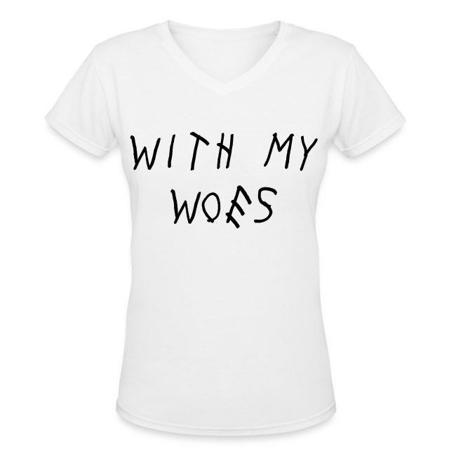 With My Woes Women's T-Shirt
