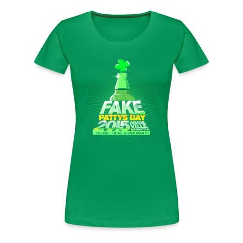 Ladys 2015 Bottle Tee - Women's Premium T-Shirt