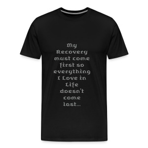 recovery first - Men's Premium T-Shirt