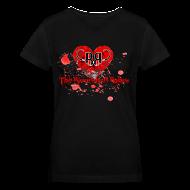 T-Shirts ~ Women's V-Neck T-Shirt ~ Bloodshed Babes V-Neck
