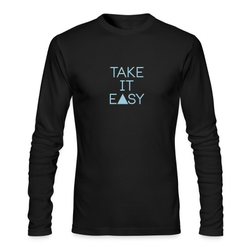 EASY - Men's Long Sleeve T-Shirt by Next Level