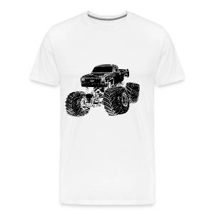 truck t - Men's Premium T-Shirt