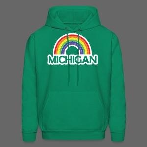 Kelly's Michigan Rainbow - Men's Hoodie