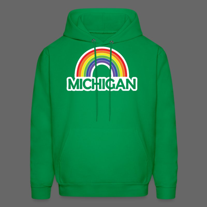 Kelly's Michigan Rainbow - Men's Hoodie