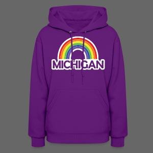 Kelly's Michigan Rainbow - Women's Hoodie