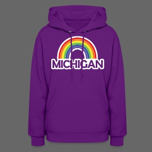 Kelly's Michigan Rainbow - Women's Hoodie