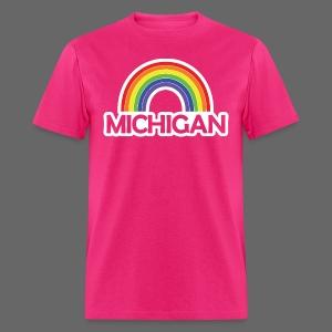 Kelly's Michigan Rainbow - Men's T-Shirt