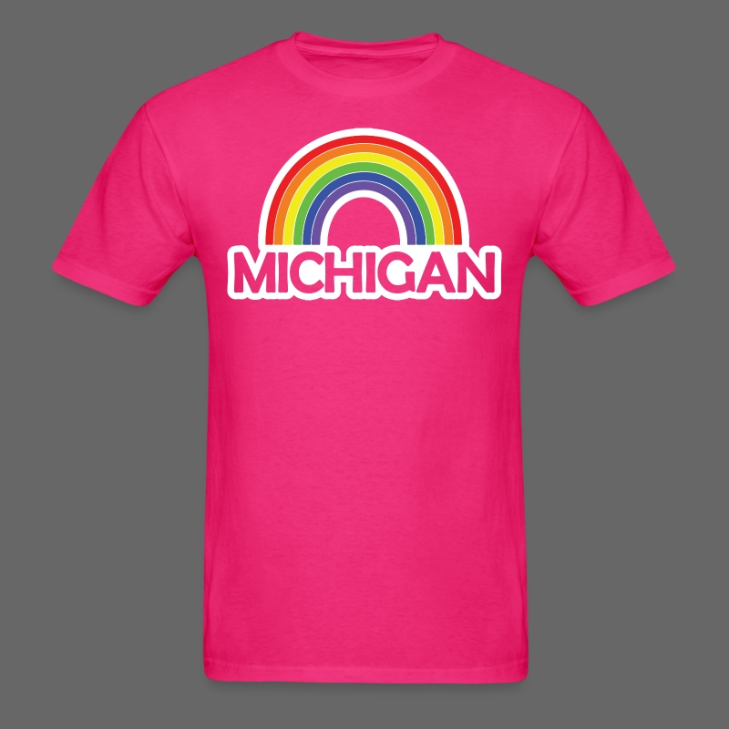 Kelly's Michigan Rainbow - Men's T-Shirt