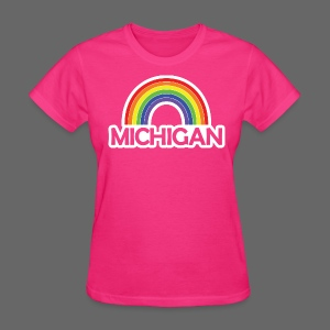 Kelly's Michigan Rainbow - Women's T-Shirt