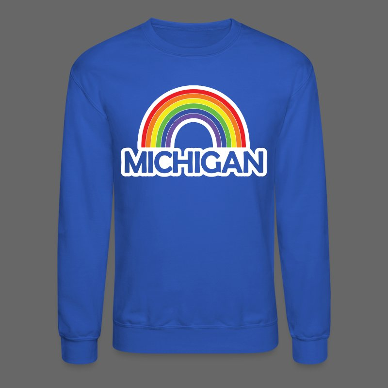 Kelly's Michigan Rainbow - Crewneck Sweatshirt