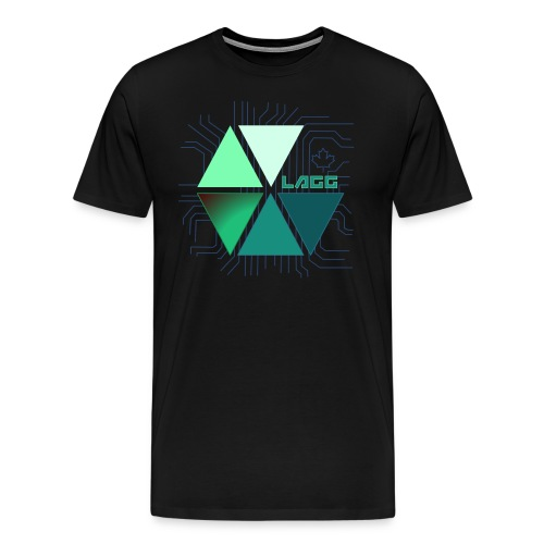 Lagg Micro Chip Canadian T-Shirt Men's - Men's Premium T-Shirt