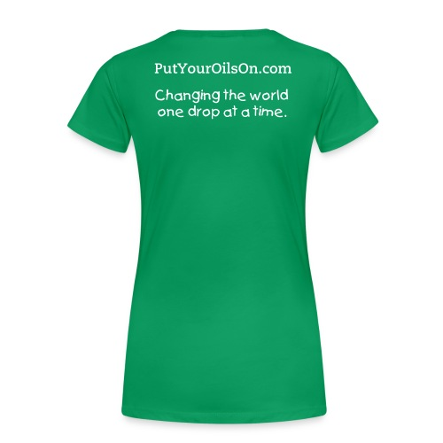 Women's T-Shirt, Young Living Essential Oils - Women's Premium T-Shirt