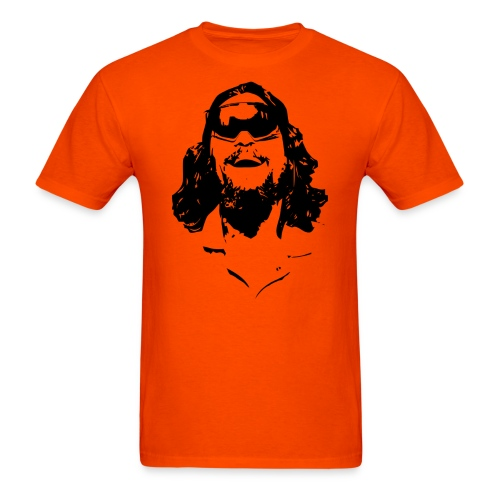 The Dude Rides T-Shirt - Men's T-Shirt