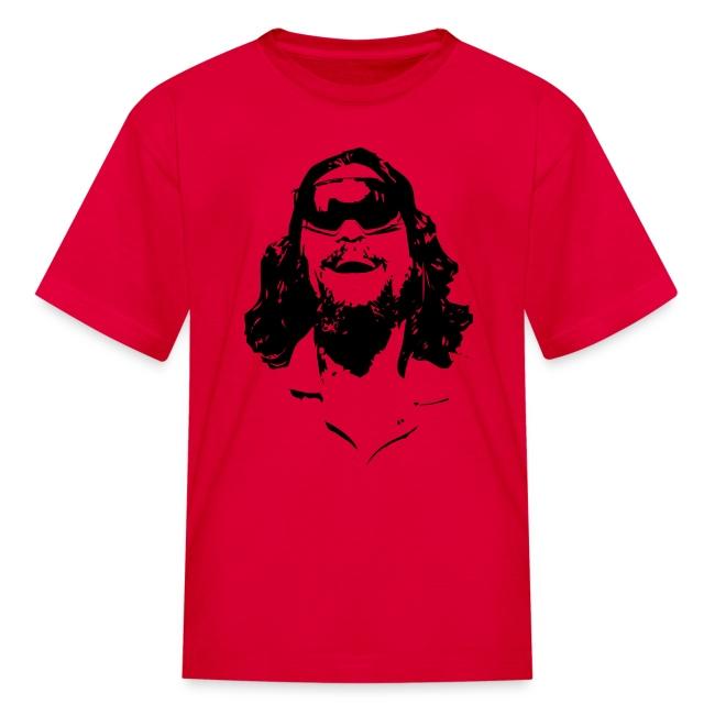 The Dude Rides Kids' T-Shirt