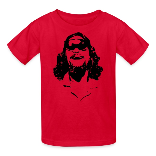 The Dude Rides Kids' T-Shirt