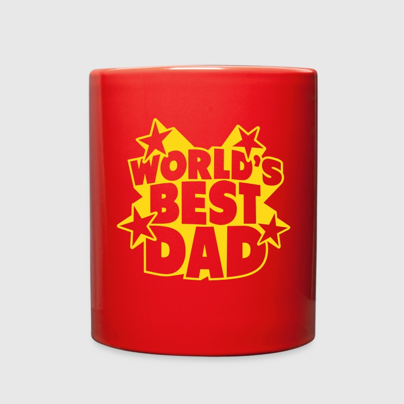 World's best Dad Mugs & Drinkware - Full Color Mug