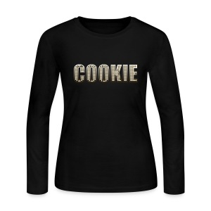 Long Sleeve Cookie Lyon - Women's Long Sleeve Jersey T-Shirt