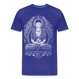 Gautama Buddha Distressed T-Shirts - Men's Premium T-Shirt