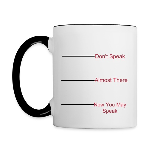 The Don't Mess With Me Coffee Cup - Contrast Coffee Mug