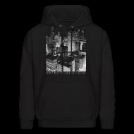 Hoodies ~ Men's Hooded Sweatshirt ~ Old Detroit Pic