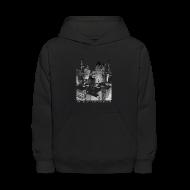 Sweatshirts ~ Kids' Hooded Sweatshirt ~ Old Detroit Pic