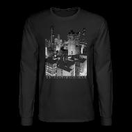 Long Sleeve Shirts ~ Men's Long Sleeve T-Shirt ~ Old Detroit Pic