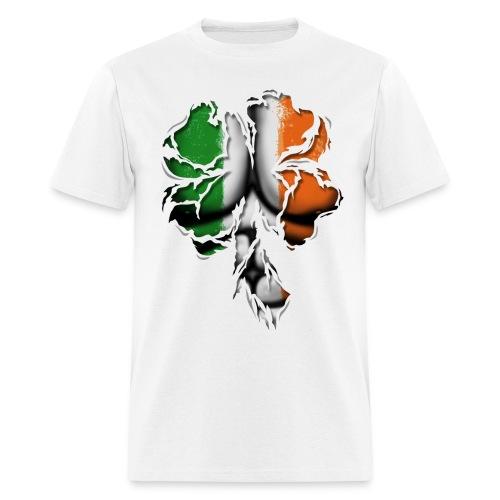 Clover Ripped - Men's T-Shirt