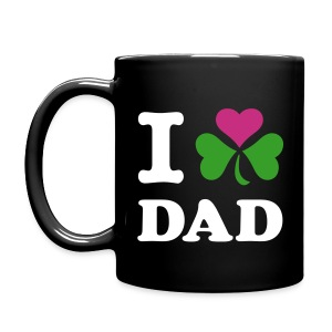 Irish - I heart Dad - Full Color Mug