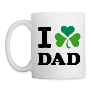 Irish - I heart Dad - Coffee/Tea Mug