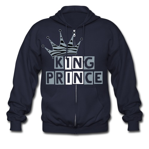 King Prince Zip Sweater  - Men's Zip Hoodie