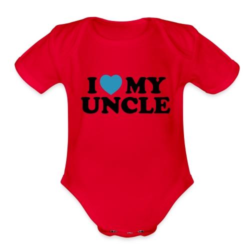 Aubree  2 - Organic Short Sleeve Baby Bodysuit
