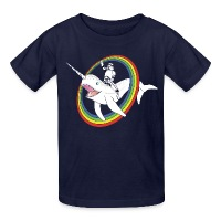 Narwhal Rainbow Stormtrooper - Kids' T-Shirt