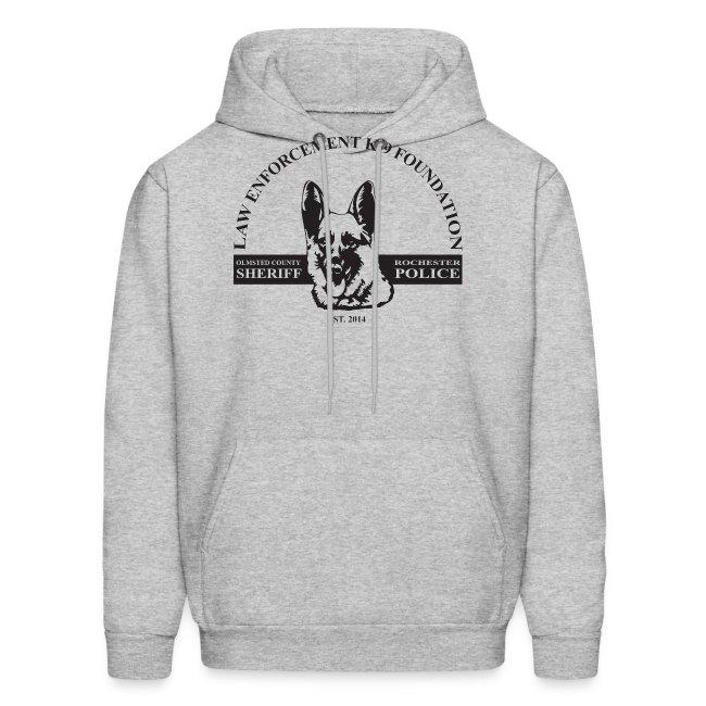 Men's Hoodie Dog Design