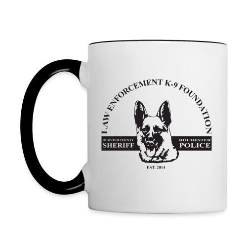 Coffee Mug Dog Design - Contrast Coffee Mug