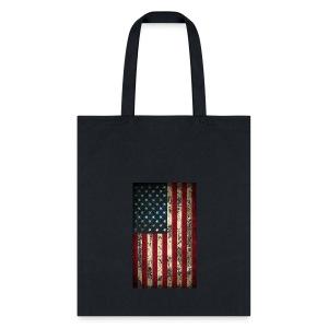 Chicago USA Flag - Tote Bag