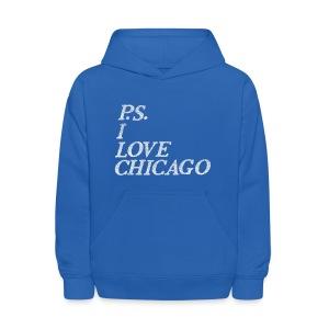 P.S. I Love Chicago - Kids' Hoodie